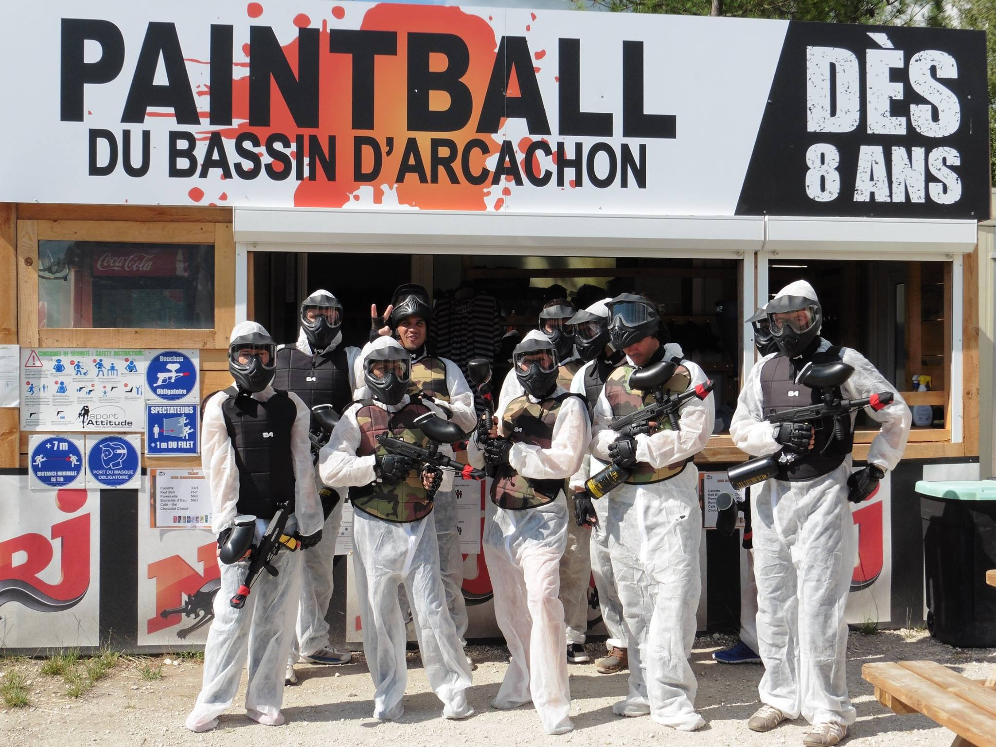 Tarifs Topgun-Paintball